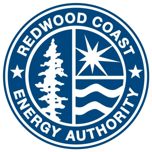 Redwood Coast Energy Authority logo, blue seal