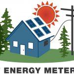 NEM RCEA logo featuring hose, powerline and sun
