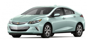 Teal Chevrolet Bolt