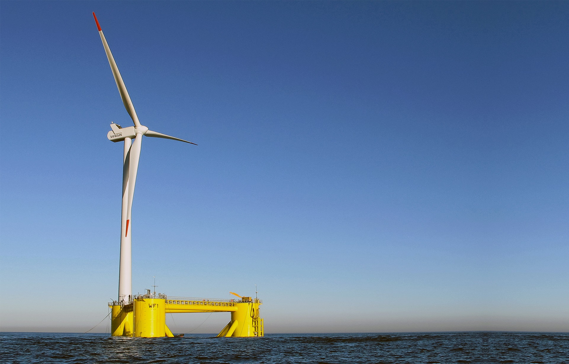principle power offshore wind turbine