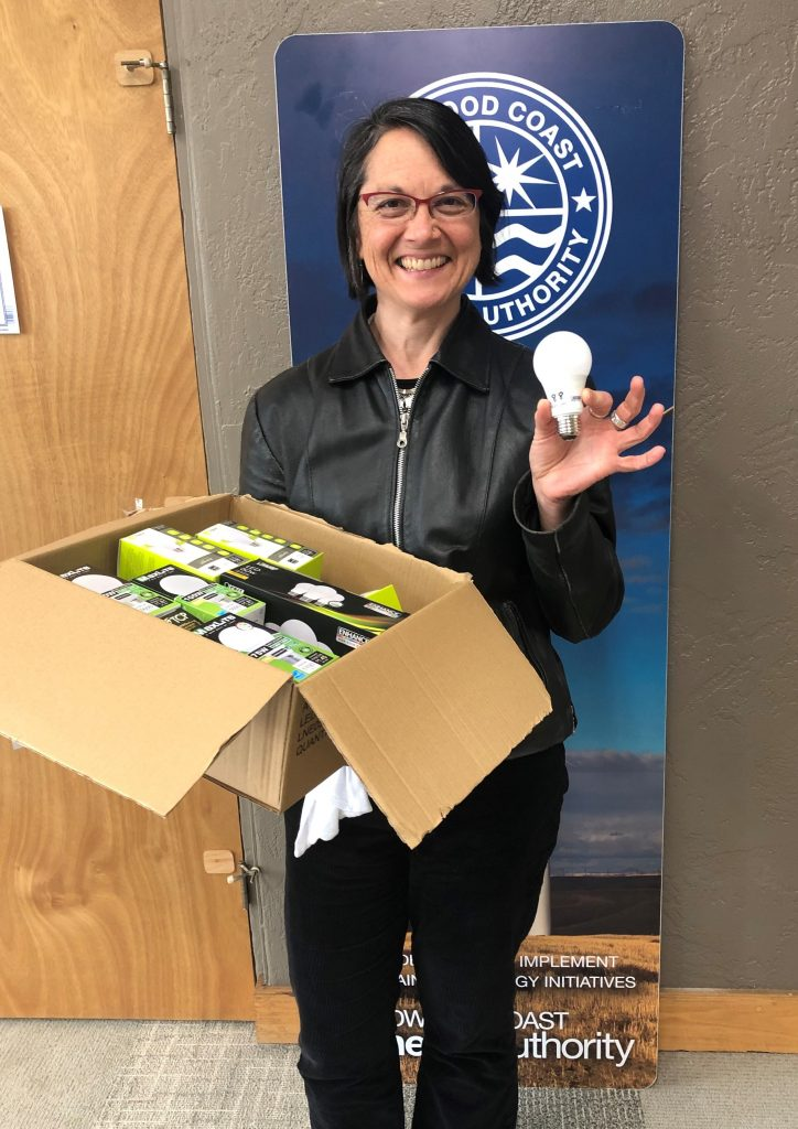 Oona Smith and her free Energy Efficiency Kit