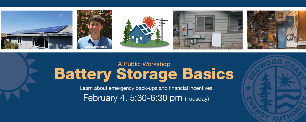 Battery Storage Workshop flyer