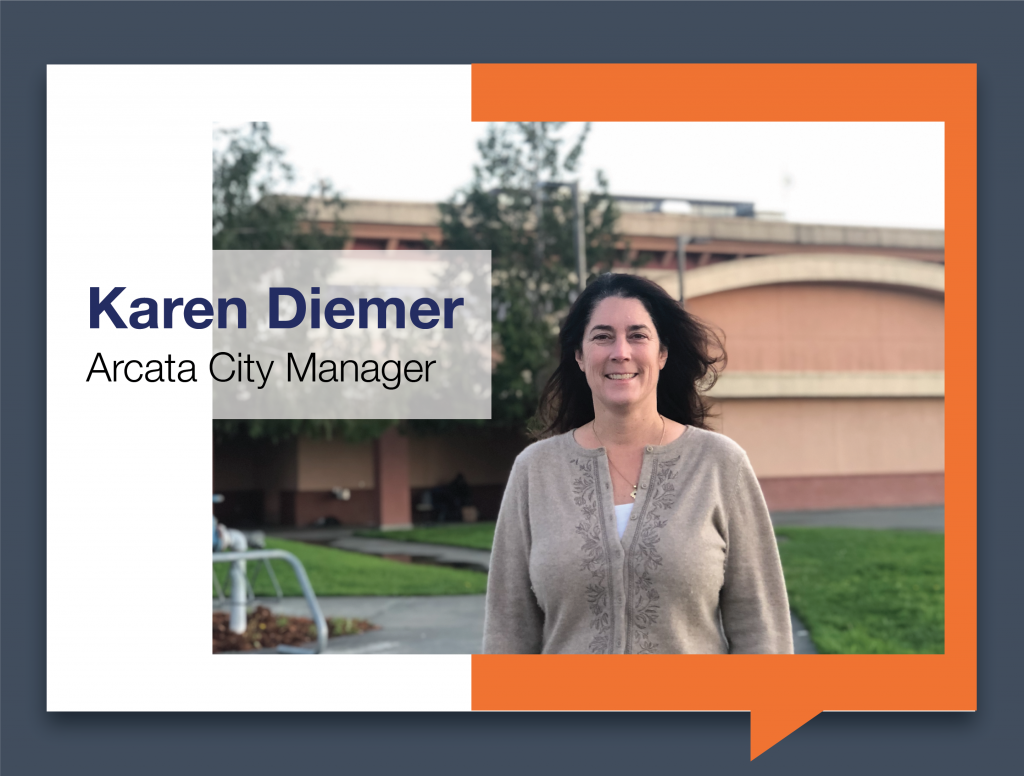 Karen Diemer, Arcata City Manager