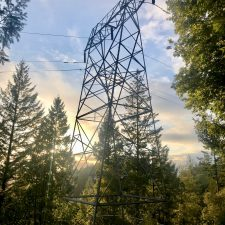 Transmission lines from Humboldt County