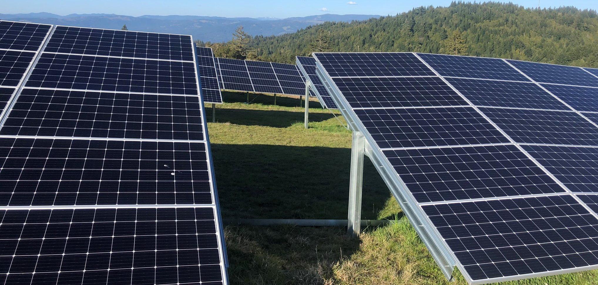 KEET solar panels in Kneeland